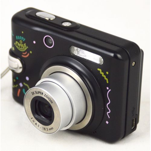 Rollei CompactLine 51 Traveler Happy Smile (5 Megapixel), gebrauchte Digitalkamera, schwarz