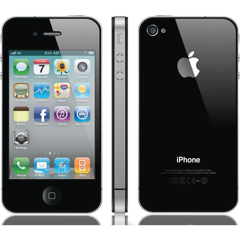 apple iphone 4s 16gb gebraucht kaufen mit 12 monaten. Black Bedroom Furniture Sets. Home Design Ideas