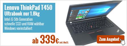 Lenovo Thinkpad T450 14 Zoll Ultrabook gebraucht kaufen