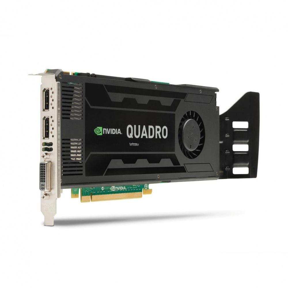 3GB Dell D5R4G Quadro K4000 DVI-I 2x DP GDDR5 PCI-E Graphic Card D5R4G