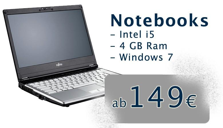 Notebooks ab 149,-