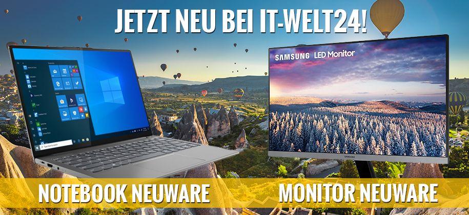 Jetzt bei IT-Welt24! Neuware zu günstigen Preisen!