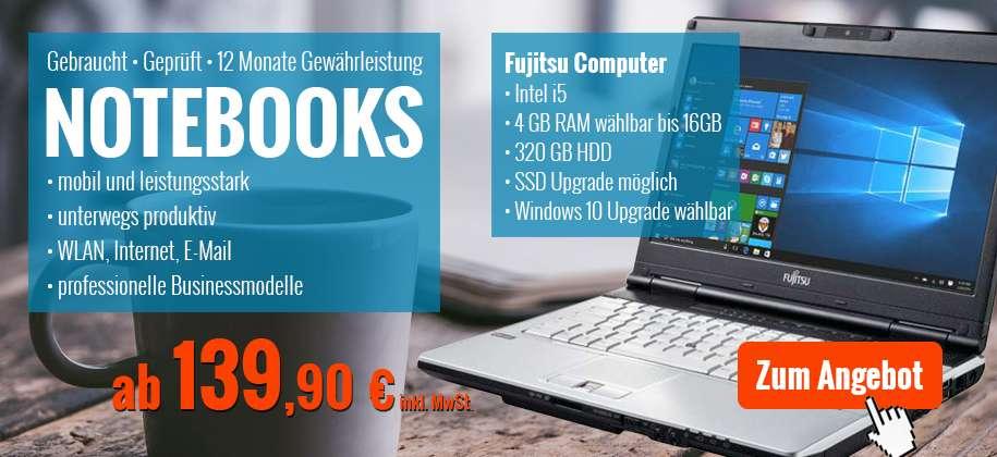 Laptops & Notebooks gebraucht mit Garantie günstig kaufen