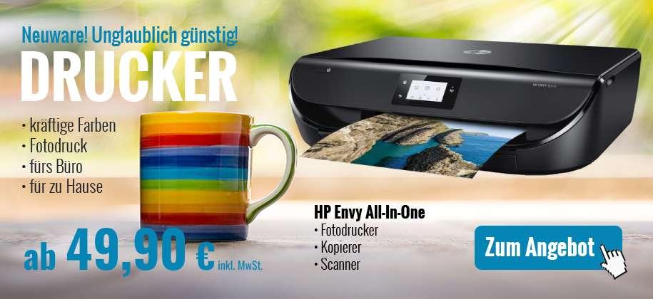 Gebrauchte Drucker, All-In-One Tintenstrahldrucker, Top-Bürogeräte professionell generalüberholt günstig kaufen